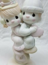 Precious Moments 101850 Lord Help Us Keep Our Act Together by Enesco 1986 - $8.46