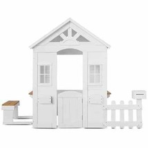 Lifespan Kids Teddy Cubby House V2 in White NEW - $312.36