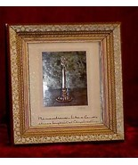 Mission Era Arts & Crafts Christmas Candle Hammered Copper Color Picture... - $128.69