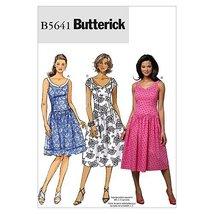 Butterick Patterns B5641 Misses'/Misses' Petite Dress, Size AA (6-8-10-12) - $9.80