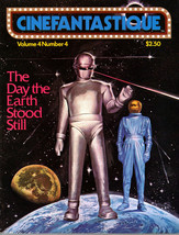Cinefantastique v4 #4, Winter 1975 - The Day The Earth Stood Still - $15.00