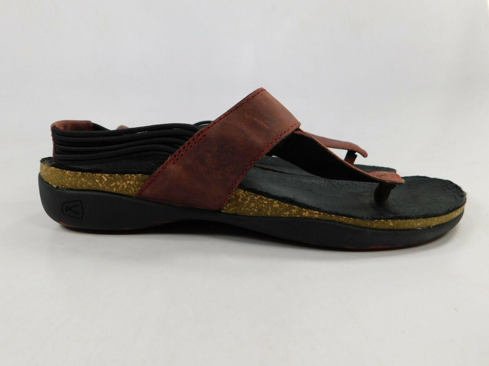 Keen Dauntless Geschrieben Damen Sport Sandalen Größe Us 7 M (B) Eu 37,5 Rot