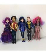 5 Disney Descendants Dolls -Singing Queen of Mean Audrey, Jay, Evie, Mal... - $56.09