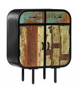 vidaXL Sideboard Solid Reclaimed Wood Bedside Cabinet Buffet Storage Stand - $191.99