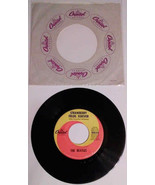 """THE BEATLES ""STRAWBERRY FIELDS FOREVER-PENNY LANE BY 45 RPM record with... - $25.00"