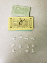2004 Operation Shrek Game Replacement Funatomy Pieces, Cards and Money - $9.99