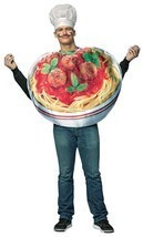 Spaghetti and Meatballs Adult Costume Tunic Men Women Food Unique GC6834 - $52.99