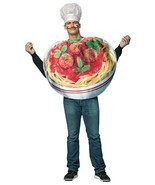 Spaghetti and Meatballs Adult Costume Tunic Men Women Food Unique GC6834 - $70.66 CAD