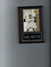 Earl Battey Plaque Baseball Minnesota Twins Mlb C - $0.98