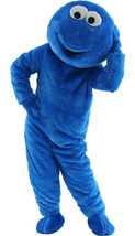 Sesame Street Cookie Monster Mascot Costume Party  Adult Size Halloween ... - $188.09