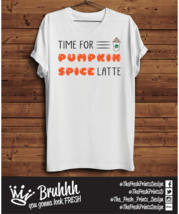 Spice Pumpkin Spice Latte T Shirt Starbucks Coffee Tumblr Hipster Unisex Gift  - $12.76
