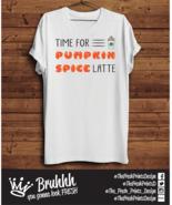 Spice Pumpkin Spice Latte T Shirt Starbucks Coffee Tumblr Hipster Unisex... - $12.76