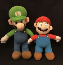 Mario Luigi Plush 2010 Wii Nintendo Super Mario Brothers Toy Doll Soft - $12.88