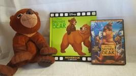 Disney's Brother Bear Gift Set, Feature 2 Disc DVD, Book, Stuffed Kenai Bear - $7.99