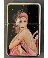 Cool Vintage Art Deco Dancer Girl Duel Torch Lighter - $23.70