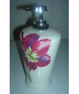 New Lotion/Soap dispenser Anna's linens white ceramic lotion dispenser - $16.82