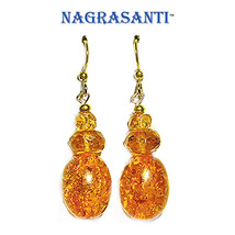 Nagrasanti Citrine/Amber Dangle Earrings - €23,18 EUR