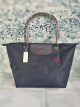 NEW Longchamp Le Pliage Navy Blue tote bag Large L - $119.23