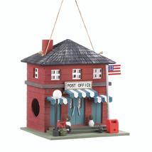 #10018078 *Wood Post Office Bird House* - £17.98 GBP