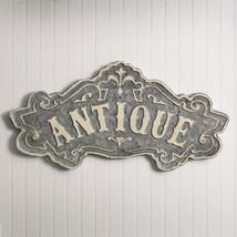 Vintage ANTIQUE METAL SIGN PLAQUE Rustic Farmhouse Country Retro Reprodu... - $51.99