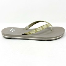 UGG Simi Graphic Oyster Gray Womens Flip Flop Sandals 1099831 OYS - $36.95