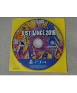 EUC Just Dance 2016 Sony Playstation 4 PS4 Game Disc Only Free Ship - $15.83