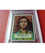 1952  TOPPS   #  11   NATHAN  HALE    LOOK ' N  SEE    PSA  5   EX   !! - $34.99
