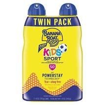Banana Boat Sunscreen Kids Sport, Tear-Free Broad Spectrum Sunscreen Spray - SPF