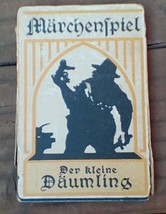 Vintage German Card Game.  Marchenspiel.  Der Kleine Daumling.  Y-032 - $23.00