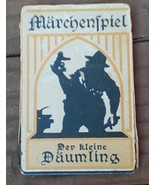 Marchenspiel.  Der Kleine Daumling.  Vintage German Card Game.  Y-032 - $23.00