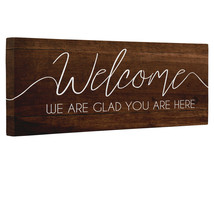 Wooden Welcome Canvas Wall Art - $22.28+