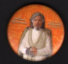 Hallmark 2017 SDCC San Diego Comic Con Exclusive Button Pin Star Wars ~ ... - $7.91