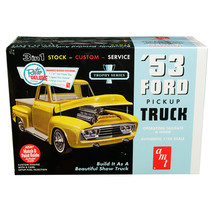 Skill 2 Model Kit 1953 Ford Pickup Truck Trophy Series 3 in 1 Kit 1/25 S... - $58.05