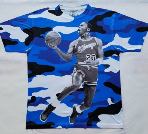 57599cfe4fd943 Custom Jordan Sky Camo Sublimated Shirt and 26 similar items. 12