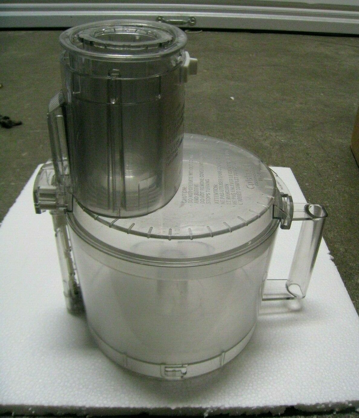 Primary image for Cuisinart DLC 8 Food Processor Work Bowl & Lid with Pusher & Dough Blade China