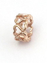 Endless Jewelry Multiple Hearts Rose Gold Charm Bead, 61152, New - $28.49