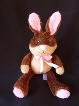 "ANIMAL ADVENTURE Brown BUNNY RABBIT 10"" Easter plush Stuffed Animal - $9.75"