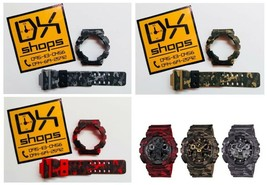 Case For G-Shock GA,GD-100,110,120 Camouflage Pattern With Watch Strap D... - $109.99