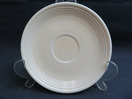 Vintage Fiesta USA yellow ceramic US Pottery deco saucer - $10.00