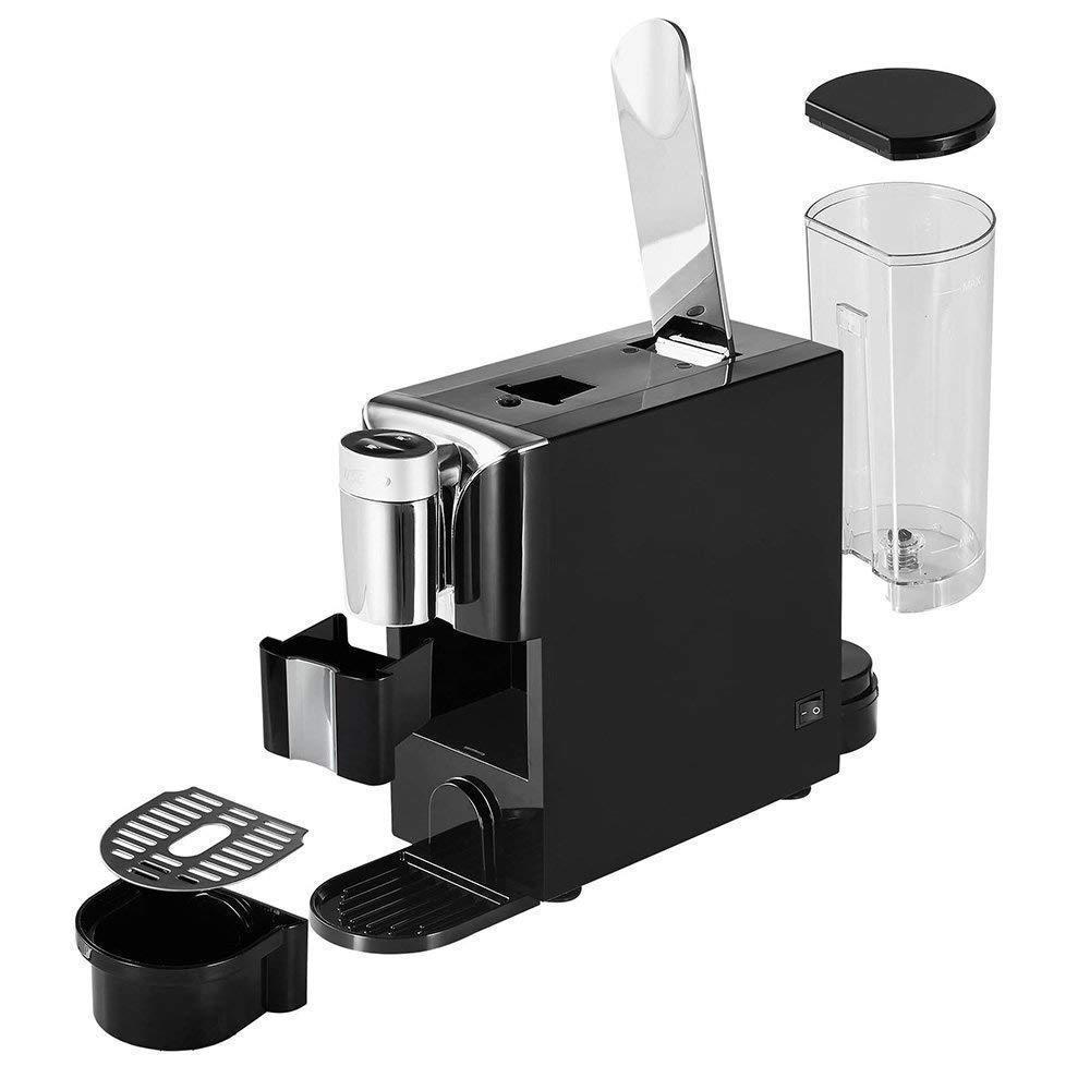 Capsule Espresso Coffee Machine Single Serve Brewer Portable Size Home Office