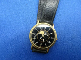 Rare 1988 Germany Citizen Moonphase 2870 F.R. Quartz Watch To Restore Stem Glass - $175.00