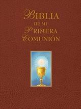 Biblia de mi Primera Comunión (Marrón)