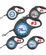 Philadelphia 76ers Retractable Dog Leash tangle free upto 110 lb pet lea... - $22.30+