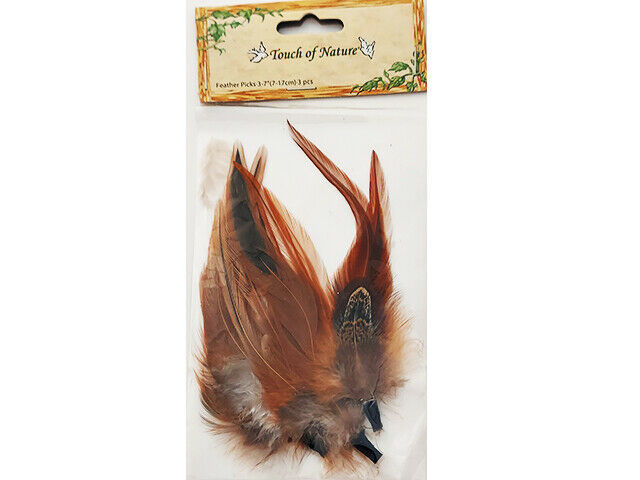 Midwest Design Touch of Nature Feather Picks #0509