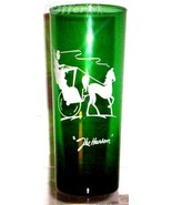 ANCHOR HOCKING/FIRE KING FOREST GREEN TALL BOY - $12.45