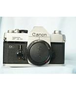 Canon FTb 35mm SLR Camera - Nice Mechanical Non Battery Dependent Shutter-  - $45.00
