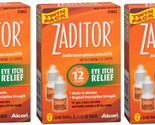 SYSTANE ZADITOR Antihistamine Eye Drops: Two 5mL bottles per box - (3 pack) - $33.96