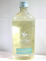 Bath & Body Works Aromatherapy TEA TREE & LAVENDER Body Wash & Foam Bath... - $12.83