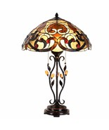 Tiffany Style Table Lamp Victorian Stained Glass Home Décor Desk Lamp - $139.99
