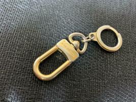 LOUIS VUITTON Anneau Cles Key Ring Holder Gold Tone Authentic - $96.54